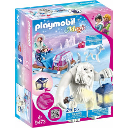 Playmobil Magic 9473 - Zimowy Troll z sankami