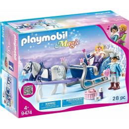 Playmobil Magic 9474 - Sanie z Parą Królewską