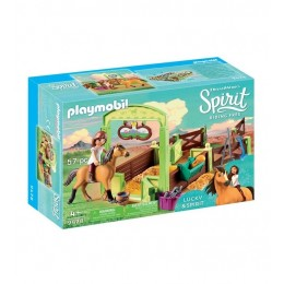 Playmobil 9478 Spirit: Riding Free Mustang - Boks stajenny Lucky i Dziki