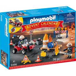Playmobil Kalendarz adwentowy 9486 Straż pożarna