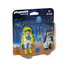 Playmobil Space 9492 Duo Pack - Astronauta i robot