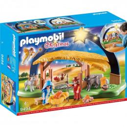 Playmobil Boże Narodzenie 9494 Stajenka z oświetleniem