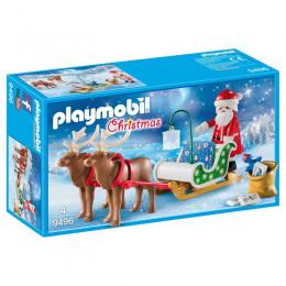 Playmobil 9496 – Christmas – Sanie świętego Mikołaja z Reniferami