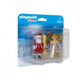 Playmobil 9498 – Duopack – Mikołaj i Aniołek