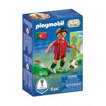 Playmobil 9516 Figurka piłkarza reprezentacji Portugalii