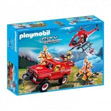 Playmobil 9518 City Acton - Akcja straży pożarnej w lesie