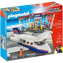 Playmobil 70114 City Action - Lotnisko