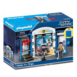 Playmobil 70306 City Action - Posterunek policji w walizce