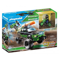 Playmobil 70460 Weekend Warrior - Off-Road Action - Jeep, motocykl i kajak