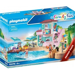 Playmobil Family Fun 70279 Lodziarnia w porcie