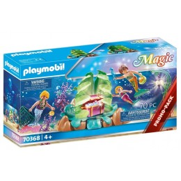 Playmobil Magic 70368 – Koralowy salon syrenek