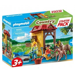 Playmobil 70501 Country – Starter Pack - Stadnina koni