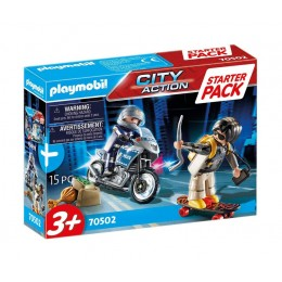 Playmobil 70502 City Action – Starter Pack – Policja