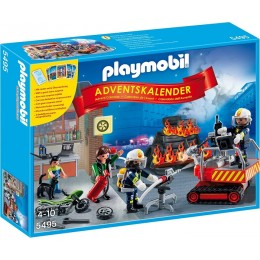 Playmobil 5495 - Kalendarz Adwentowy - Akcja Straży Pożarnej