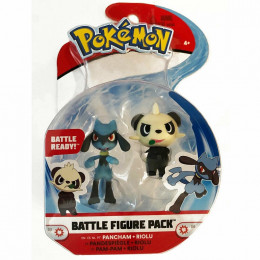 Pokemony – Dwupak figurek Pancham i Riolu – Battle figure – 95007 37647