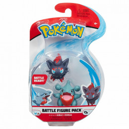Pokemony – Dwupak figurek Gible i Zorua – Battle figure – 95007 37648