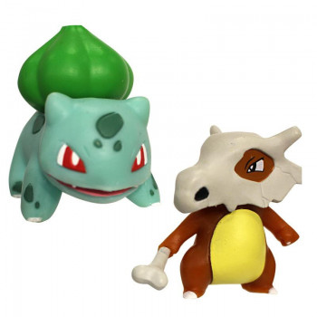Pokemony - Figurki Cubone i Bulbasaur – Battle Figure Pack - 95031