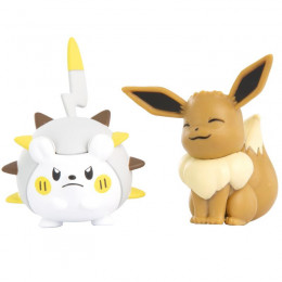 Pokemony - Figurki Togedemaru i Eevee – Battle Figure Pack - 95032