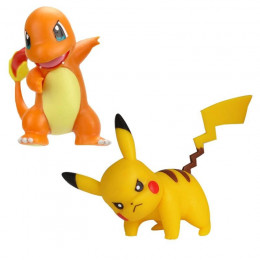 Pokemony - Figurki Pikachu i Charmandera – Battle Figure Pack - 95033