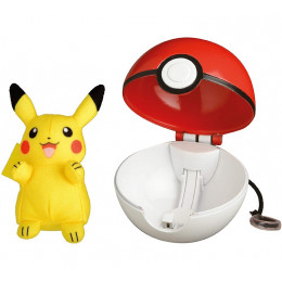 Pokemony - Pop Action – Poke Ball + Pikachu – 95081