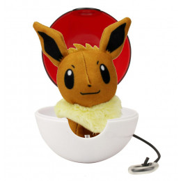 Pokemony - Maskotka Eevee i Pokeball - Pop Action 95091