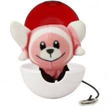 Pokemony - Maskotka Stufful i Pokeball - Pop Action 95092