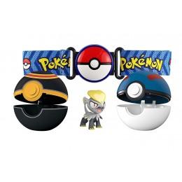 Pokemony - Jangmo-o, Poke Balle i pas - Zestaw Clip 'n' Go 95282