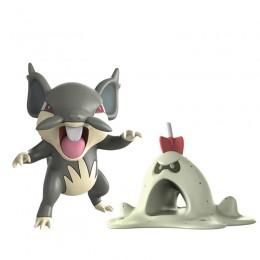 Pokemony - Figurki kolekcjonerskie - Rattata Alolański i Sandygast 96199