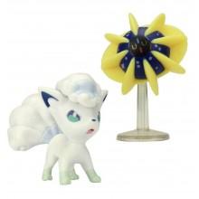 Pokemony - Cosmoem i Vulpix - Figurki kolekcjonerskie 96205 95013