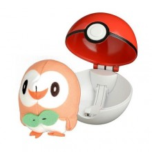 Pokemony - Rowlet - Pop Action Poke Ball 96253