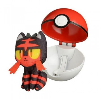Pokemony - Litten - Pop Action Poke Ball 96254