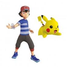 Pokemony - Figurka Asha i Pikachu - 96271 95121