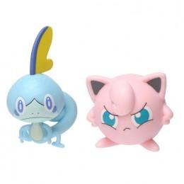 Pokemony – Figurki Sobble i Jigglypuff – Battle figure pack – 97627