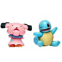 Pokemony - Figurki Snubbull i Squirtle – Battle Figure Pack - 97885