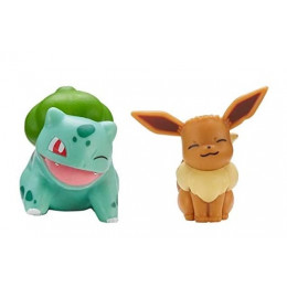 Pokemony - Figurki Eevee i Bulbasaur – Battle Figure Pack - 97886