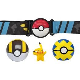 Pokemony – Pas z Pokeballami + figurka Pikachu 98005