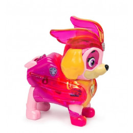 Psi Patrol - Mighty Pups Kosmopieski – Charged Up - Świecąca figurka Skye - 2533