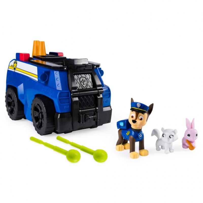 Psi Patrol Transformujący Pojazd Chasea 2w1 Rozkładany