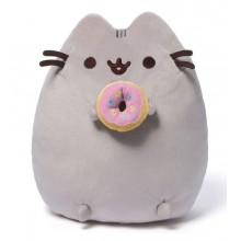 Pusheen - Maskotka Kot z donutem 24cm - 4048871