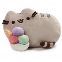 Pusheen - Maskotka Kot z pucharkiem lodów - 4060816