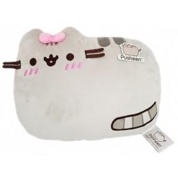 Pusheen - Poduszka - Kot z różową kokardką - PU-P04