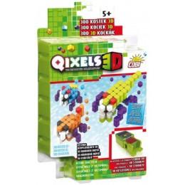 Kostki QIXELS 3D 87045 - Zestaw uzupełniający Atak Obcych 300 elementów