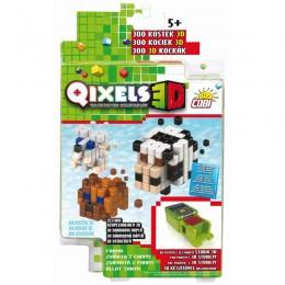 Kostki QIXELS 3D 87045 - Zestaw uzupełniający Farma 300 elementów