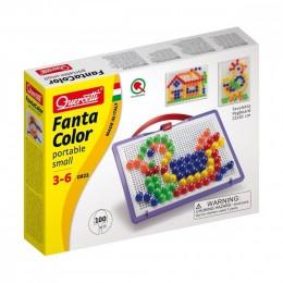 Mozaiki Fanta Color - Układanka z pinezkami 100 elementów 0923