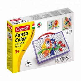 Mozaiki Fanta Color - Układanka z pinezkami 100 elementów 0924