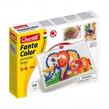 Mozaiki Fanta Color - Układanka z pinezkami 270 elementów 0952