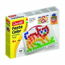 Mozaiki Fanta Color - Układanka z pinezkami 100 elementów 0955