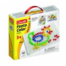 Mozaiki Fanta Color - Układanka z pinezkami 100 elementów 2122