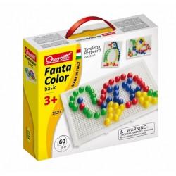 Mozaiki Fanta Color - Układanka z pinezkami 60 elementów 2123
