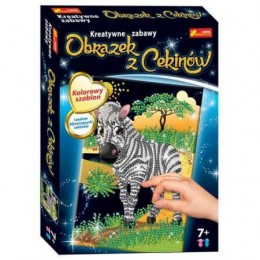 Ranok Creative 1983 Cekinowe Obrazki - Zebra